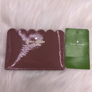 Kate spade lily avenue patent card holder wallet